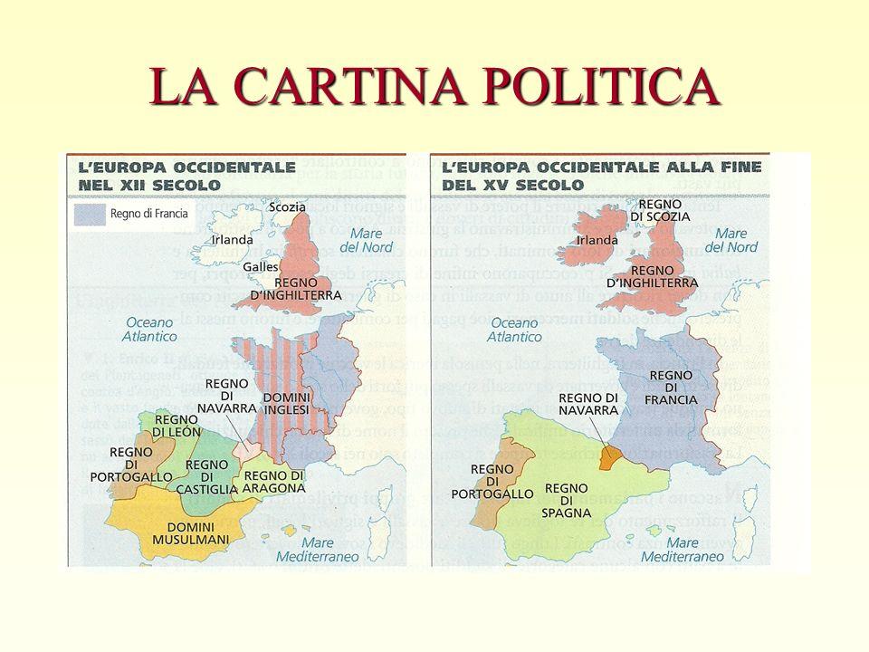 LA CARTINA POLITICA