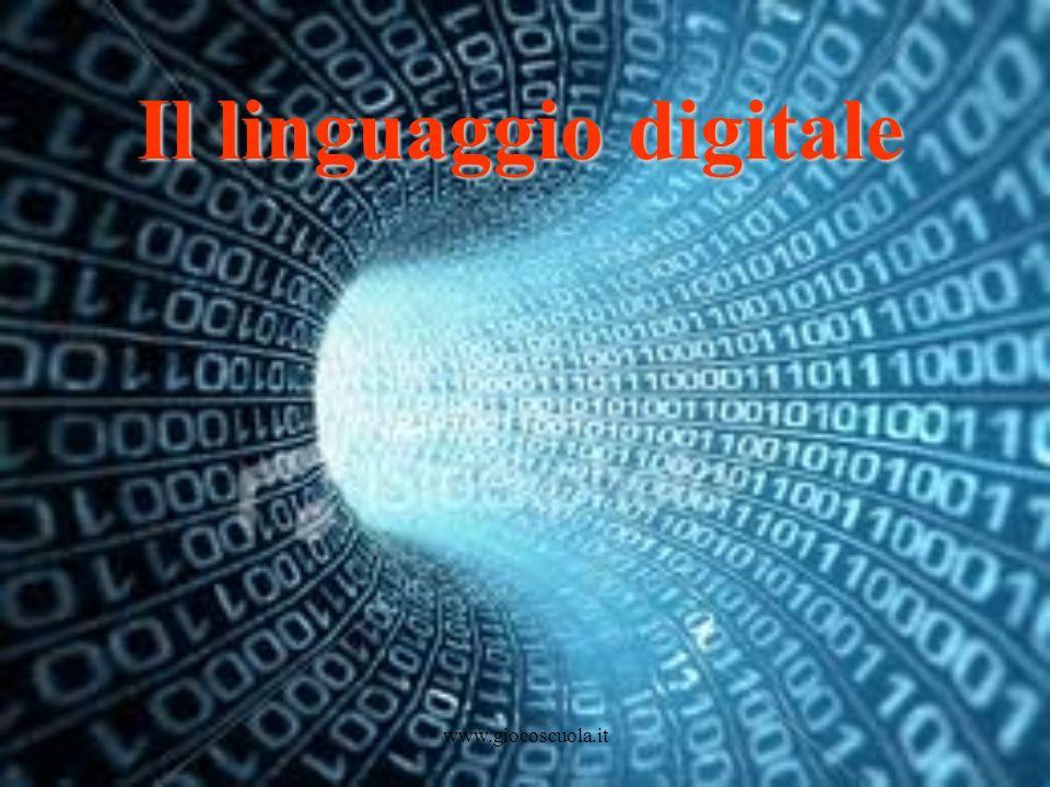 www.giocoscuola.it Il linguaggio digitale