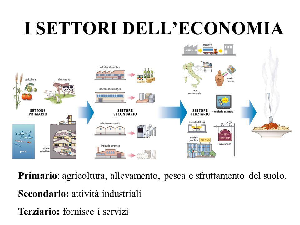 IL PRIMARIO La produzione alimentare europea è in grado di nutrire un miliardo di persone (grazie ai progressi tecnologici).