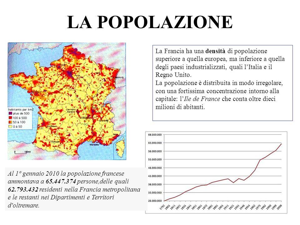LE CITTÀ Capitale Maggiori città Importanza strategica Strasburgo Lione