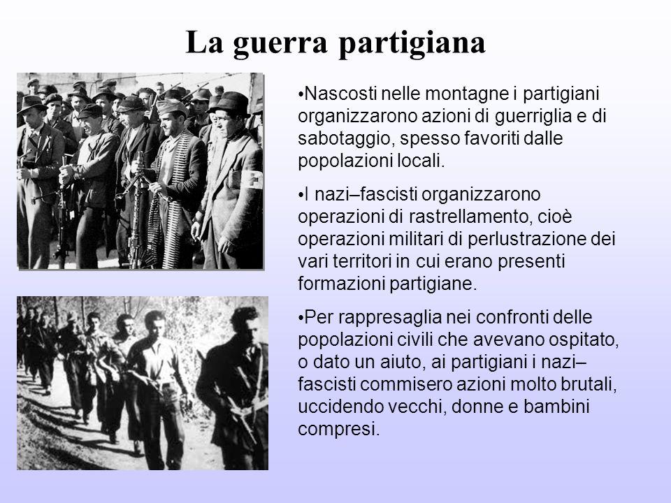 25 aprile 1945 lItalia settentrionale viene liberata Il 25 aprile i partigiani liberarono Milano, Torino e Genova.