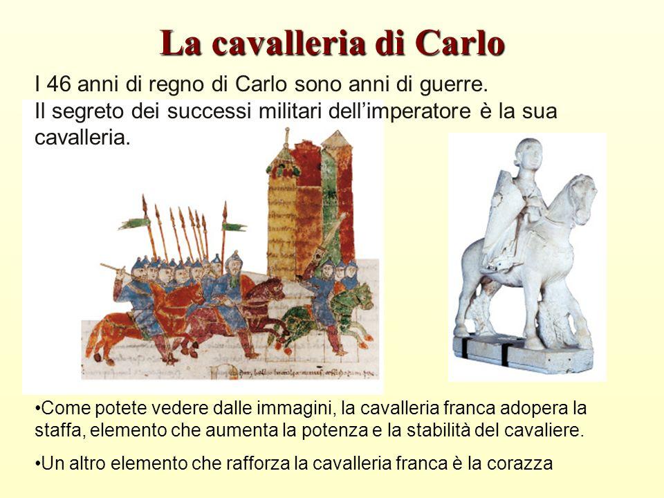 La cavalleria di Carlo I 46 anni di regno di Carlo sono anni di guerre.