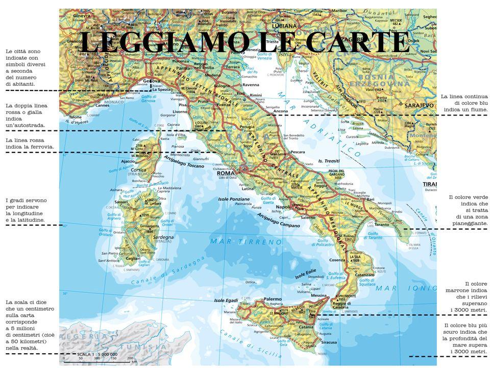 LEGGIAMO LE CARTE