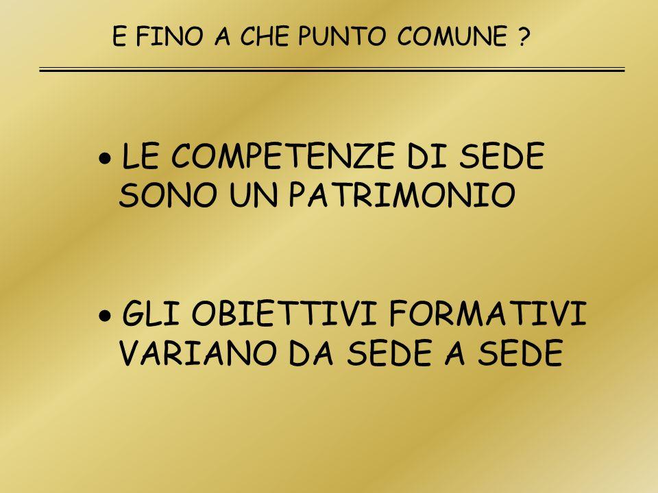 COSA PUO COSTITUIRE IL CONTENUTO MINIMO COMUNE (CMC) .