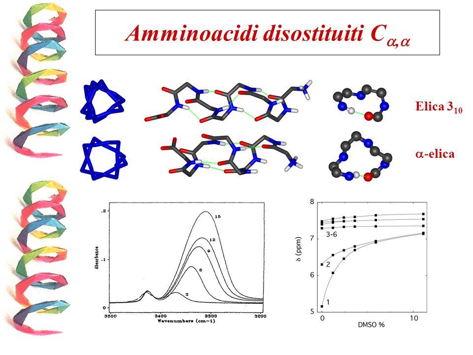 Elica 3 10 -elica Amminoacidi disostituiti C,