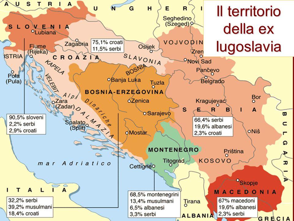 Nascita della Iugoslavia alla fine della Grande guerra i rappresentati dei serbi, dei croati e degli sloveni, proclamano il 4 dicembre 1918 la nascita del Regno dei serbi, dei croati e degli sloveni sulla base del principio di autodeterminazione dei popoli, enunciato nei 14 punti di Wilson, i trattati di pace di Versailles ne definiscono e riconoscono i confini dal 1929 assume il nome: Regno di Iugoslavia, tentativo debole di superare i conflitti emergenti tra croati e serbi