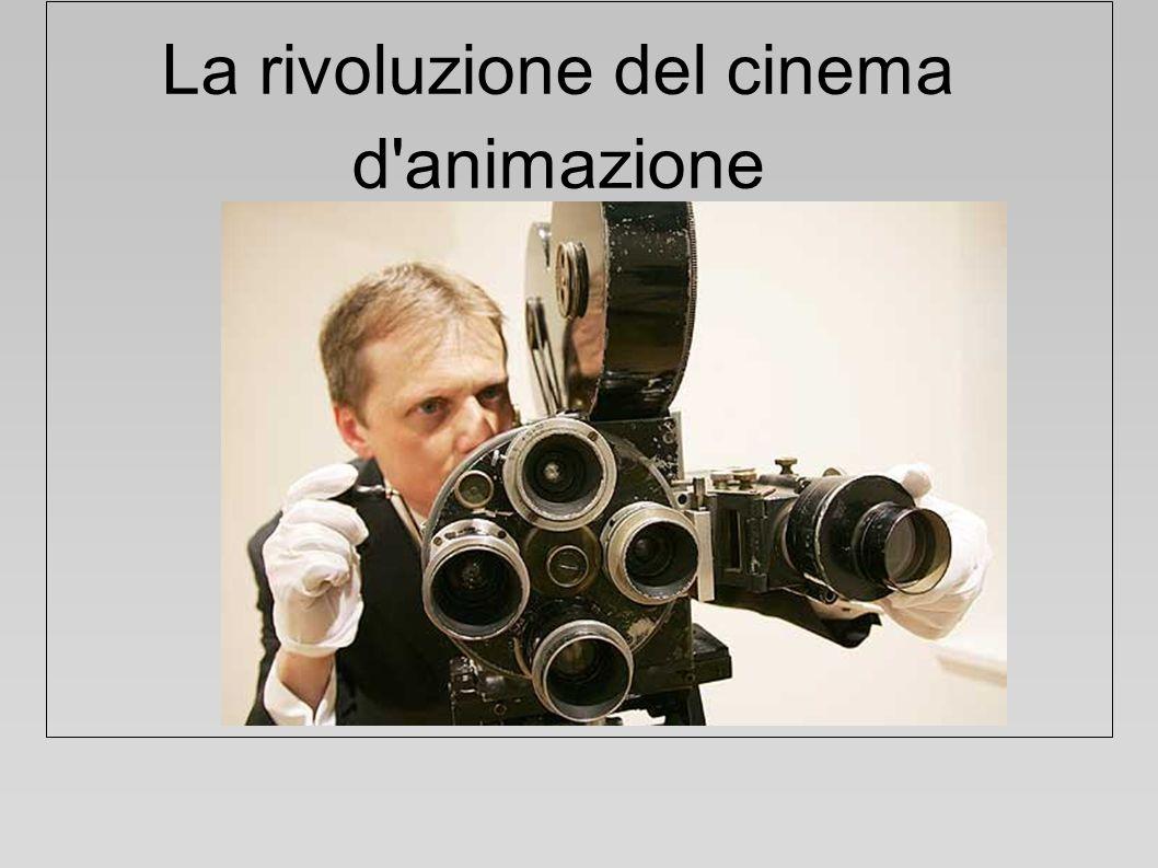 La rivoluzione del cinema d'animazione