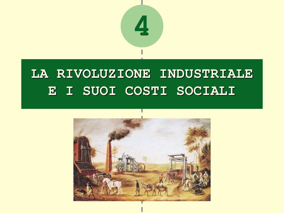 2 LA RIVOLUZIONE INDUSTRIALE E I SUOI COSTI SOCIALI 4