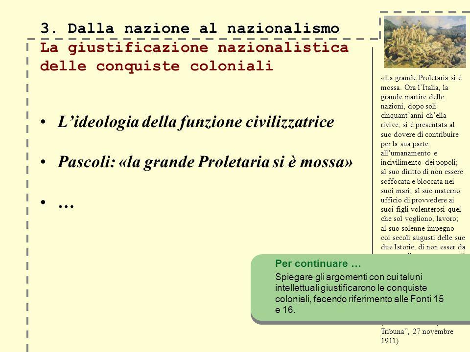3. Dalla nazione al nazionalismo 3.