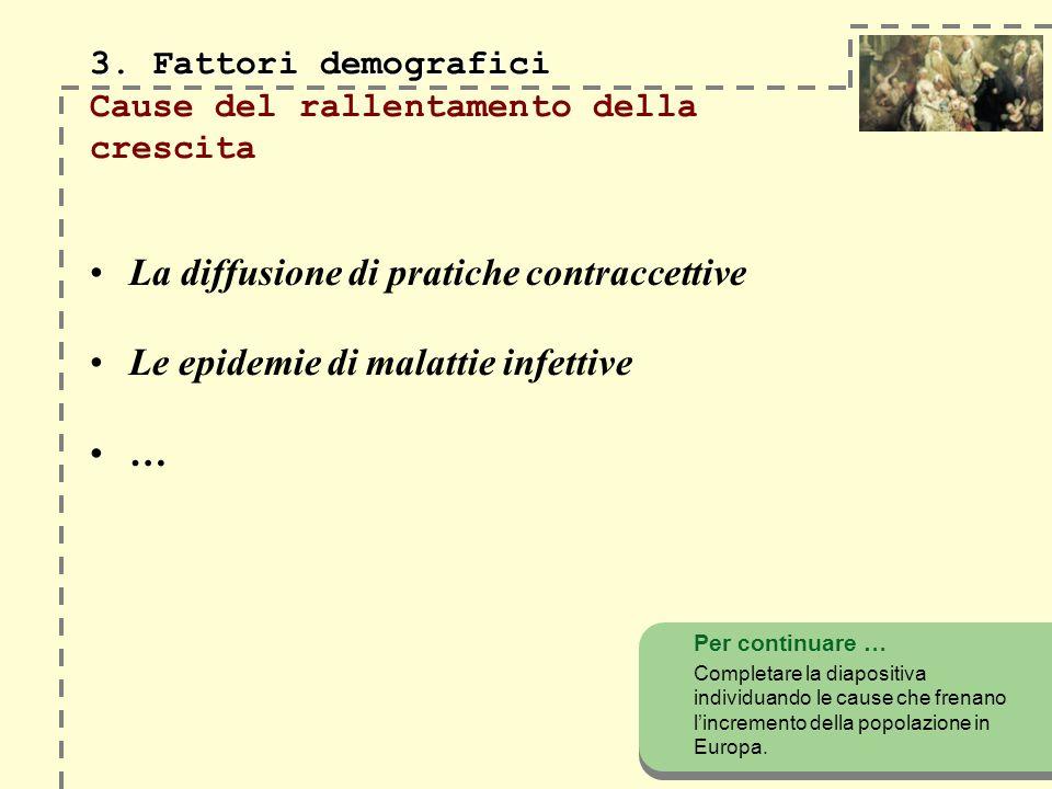 3. Fattori demografici 3.