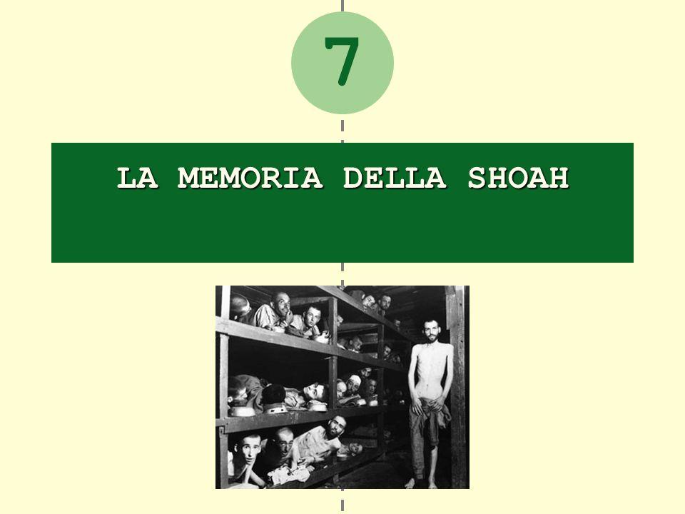 7 LA MEMORIA DELLA SHOAH