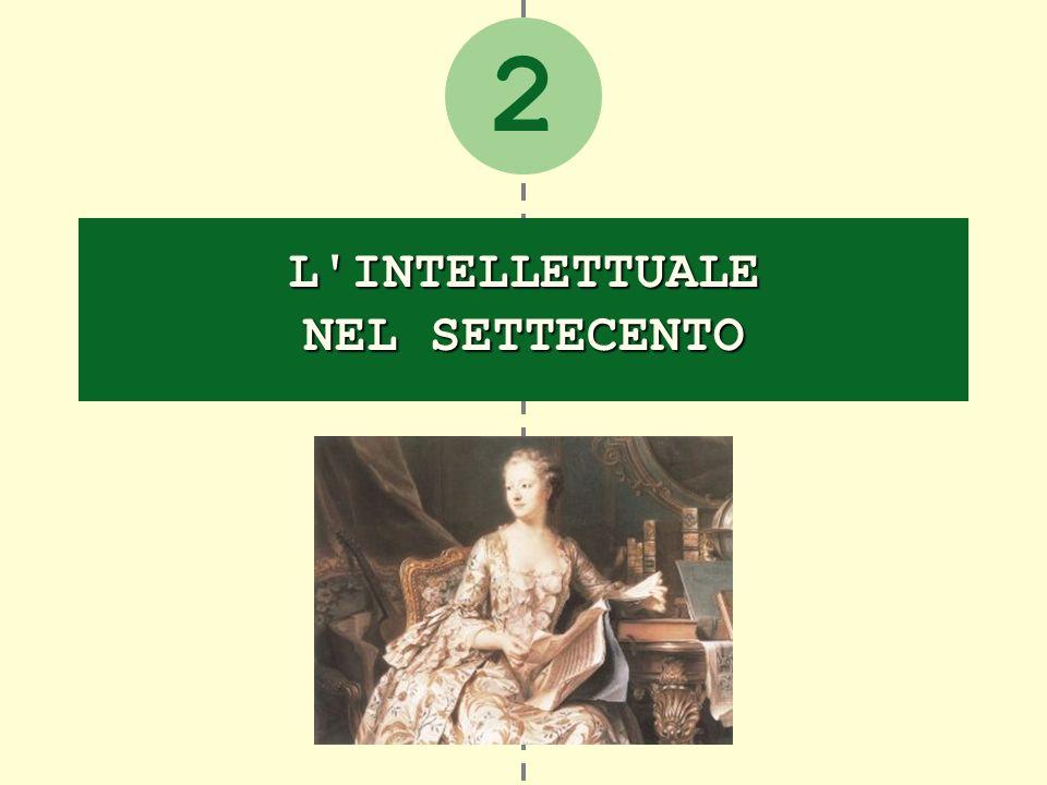 2 L'INTELLETTUALE NEL SETTECENTO