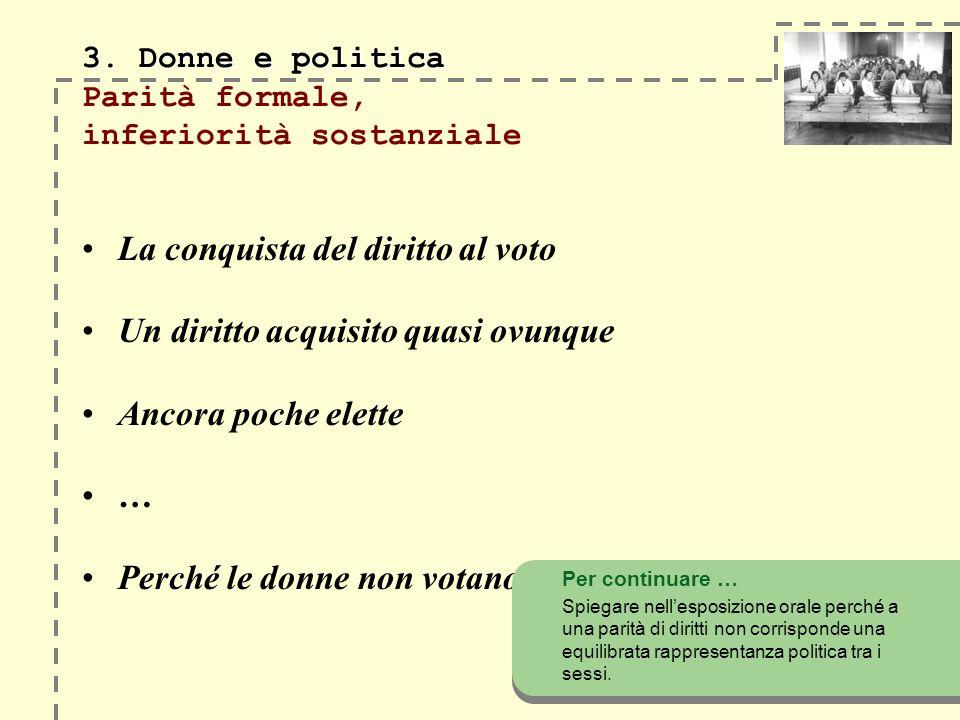 3. Donne e politica 3.