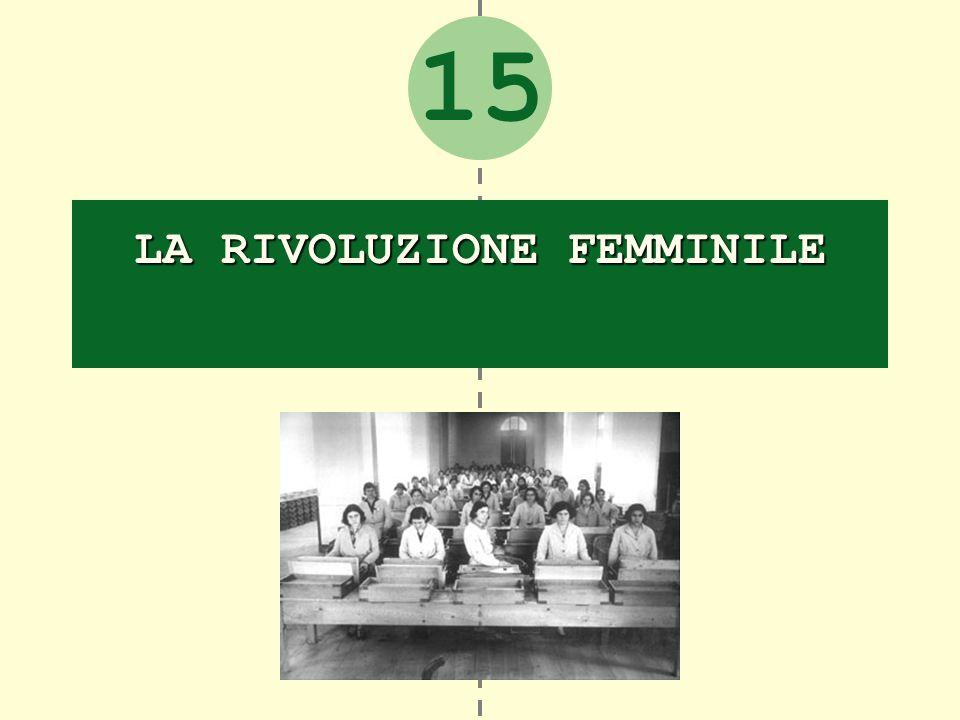 15 LA RIVOLUZIONE FEMMINILE