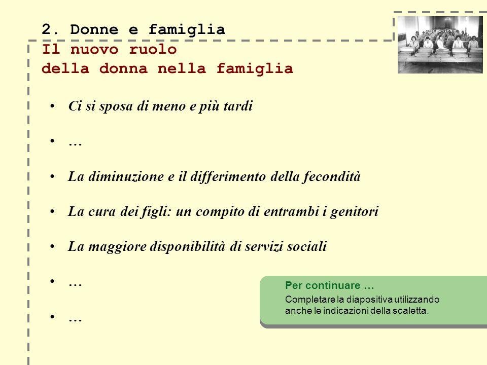 2.Donne e famiglia 2.