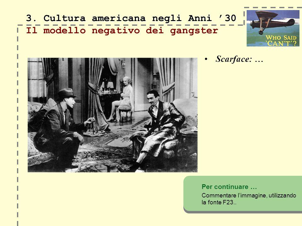 3.Cultura americana negli Anni 30 3.