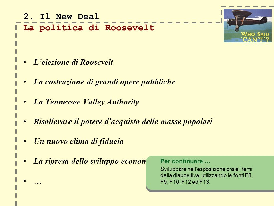 2. Il New Deal 2.