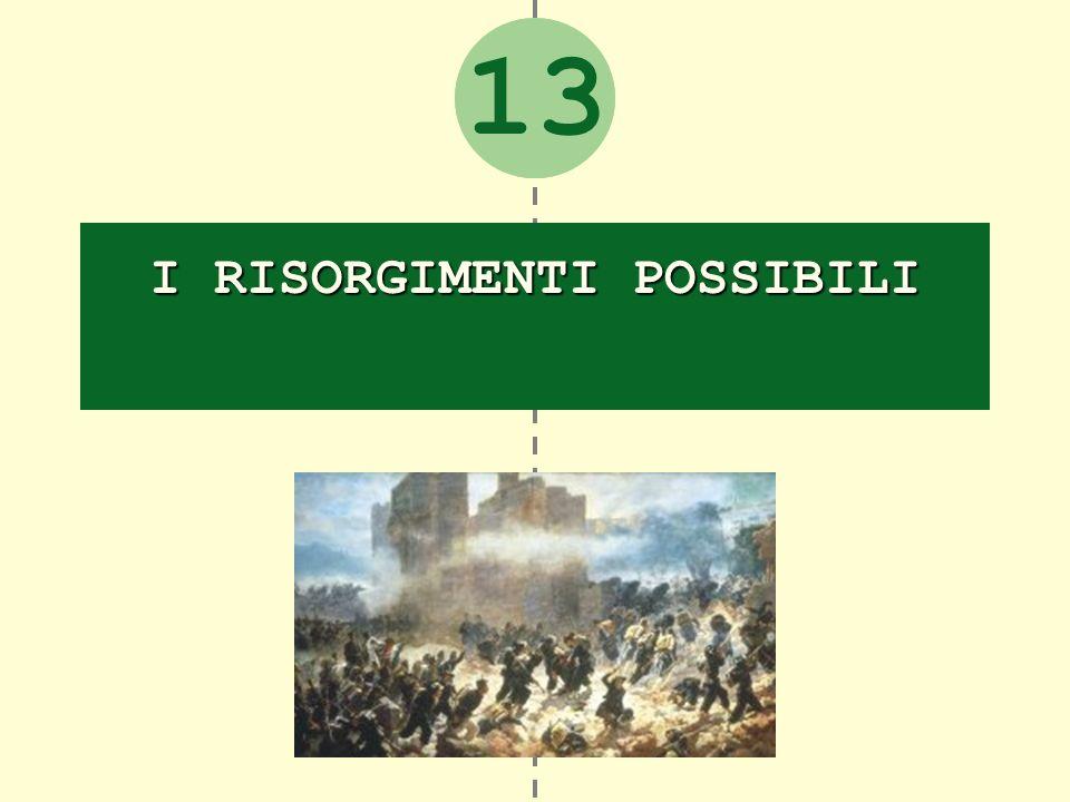 2 I RISORGIMENTI POSSIBILI 13