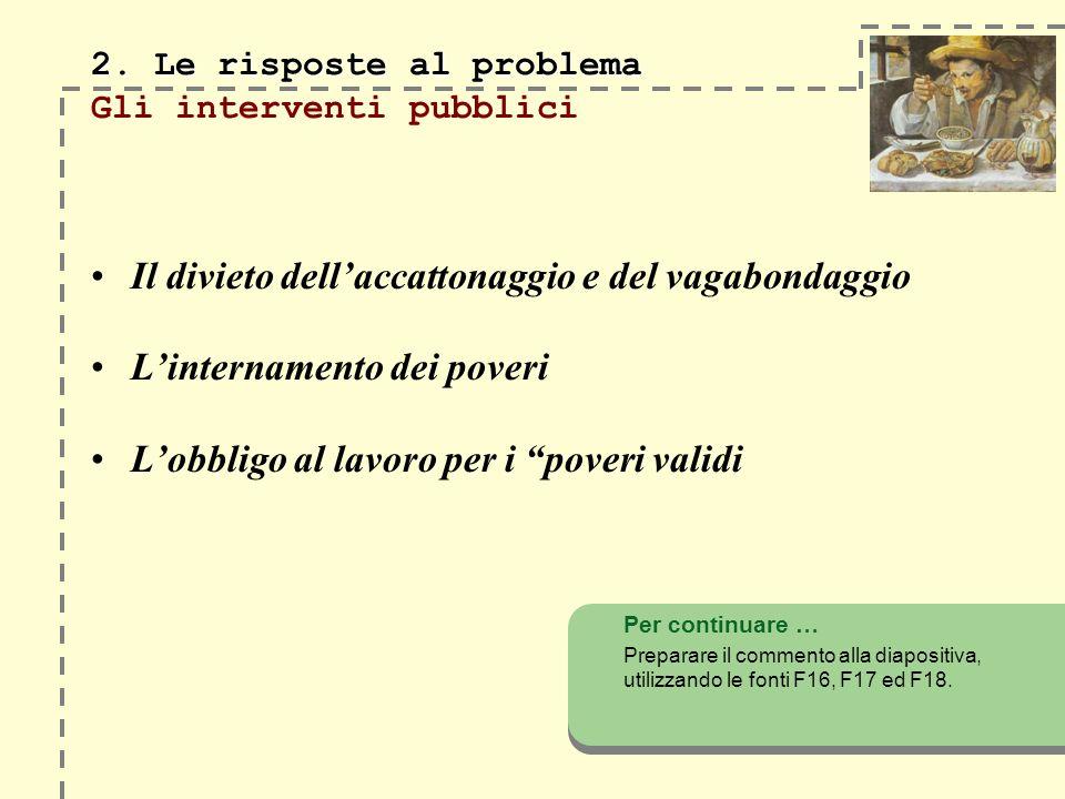 2. Le risposte al problema 2.