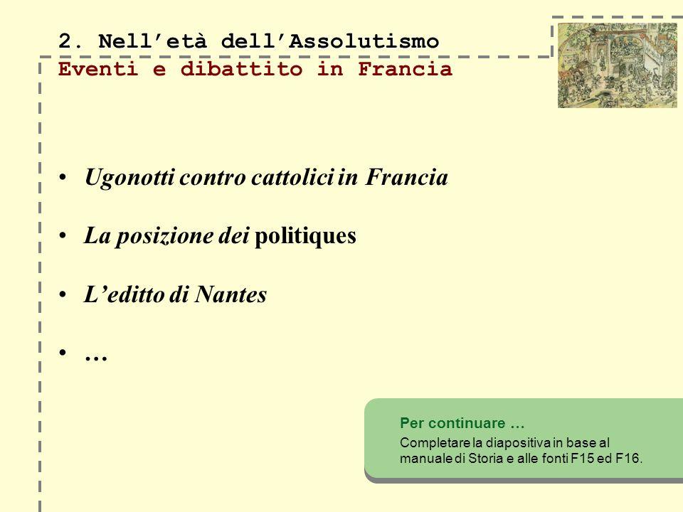 2.Nelletà dellAssolutismo 2.