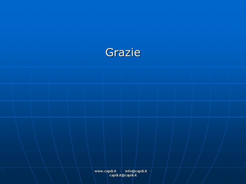 www.capdi.it - info@capdi.it - capdi.it@capdi.it Grazie