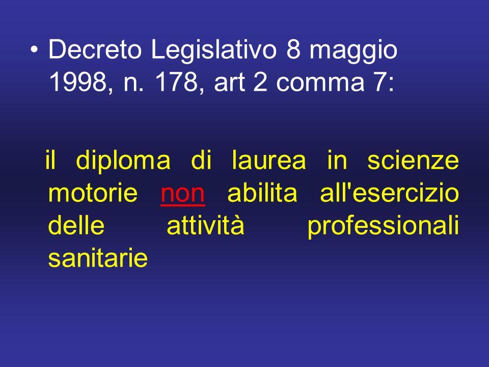 Decreto Legislativo 8 maggio 1998, n.