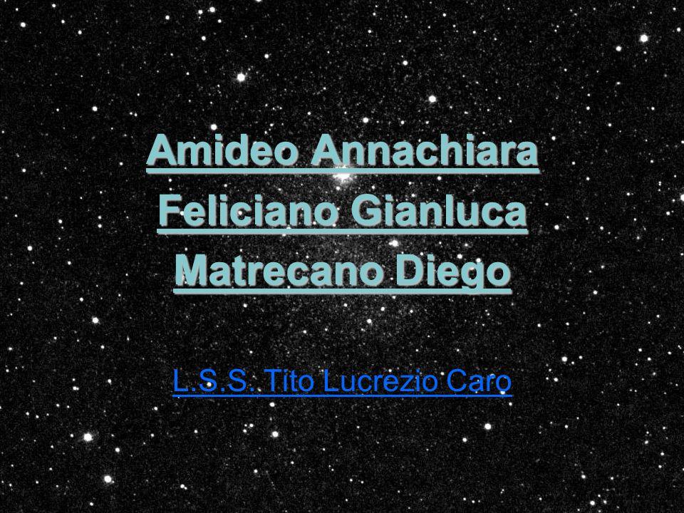 Amideo Annachiara Feliciano Gianluca Matrecano Diego L.S.S. Tito Lucrezio Caro
