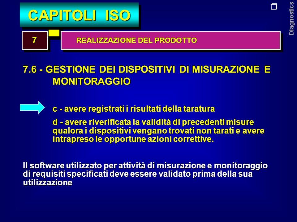 Diagnostics 8.1- PIANIFICAZIONE 8.2- MISURAZIONI E MONITORAGGI 8.3- GESTIONE DELLE NON CONFORMITA 8.4- ANALISI DEI DATI 8.5- MIGLIORAMENTO 88 CAPITOLI ISO MISURAZIONI, ANALISI E MIGLIORAMENTO MISURAZIONI, ANALISI E MIGLIORAMENTO