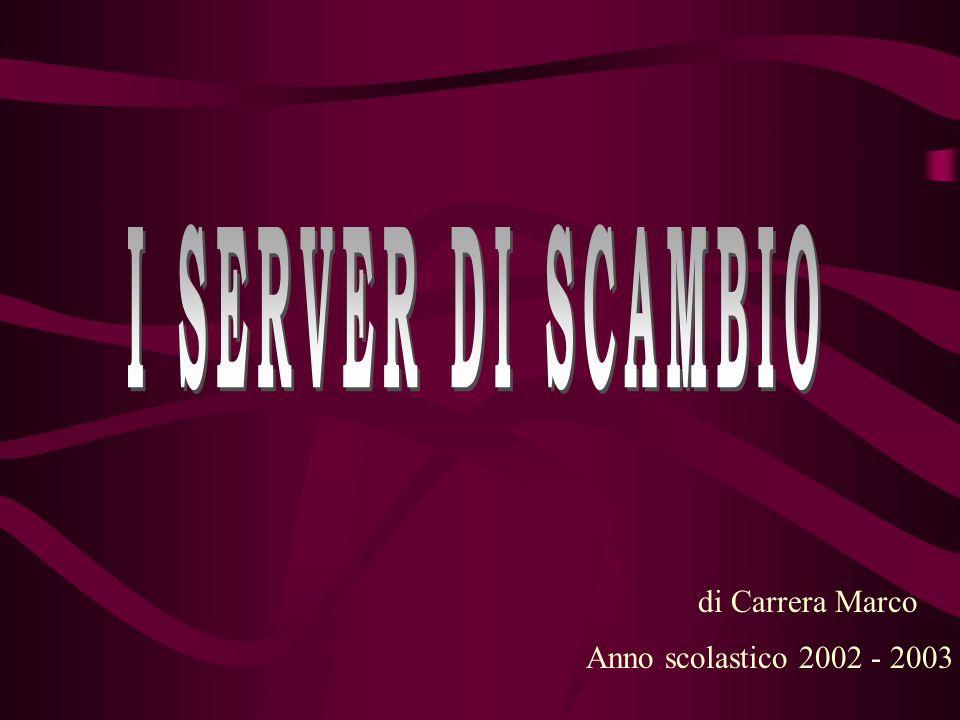 di Carrera Marco Anno scolastico 2002 - 2003
