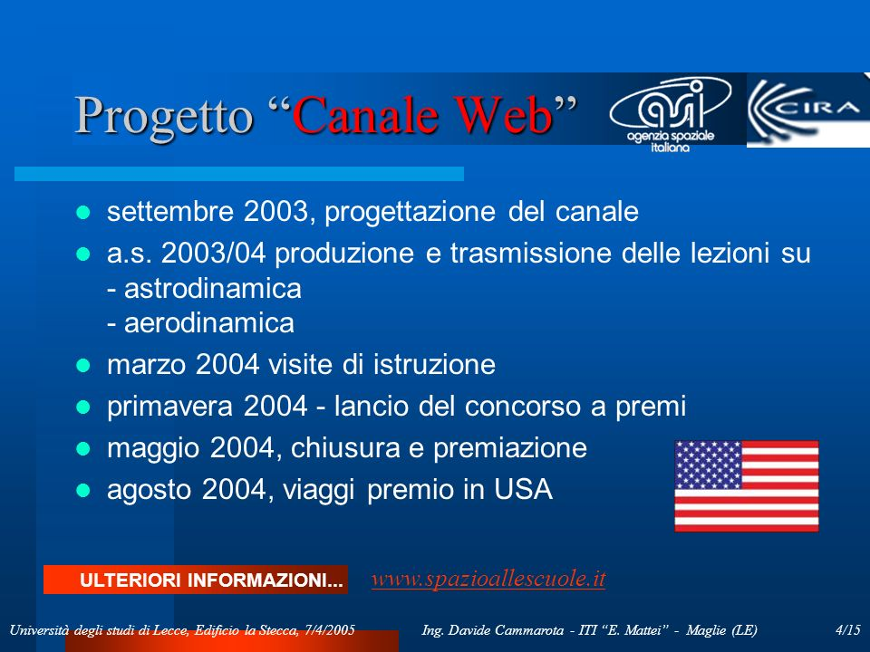 15/15Ing.Davide Cammarota - ITI E.