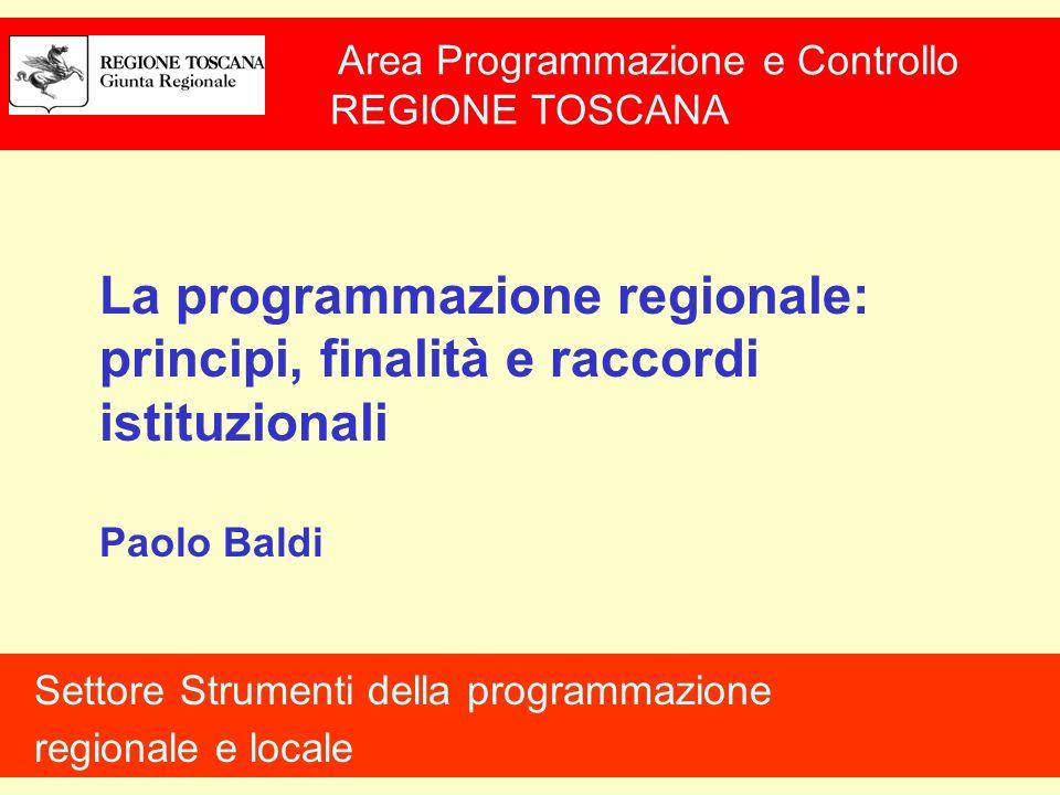 Raccordo Regione-Unione Europea Partecipazione delle Regioni alla formazione degli atti comunitari (art.