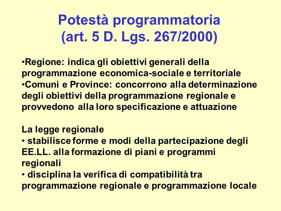 Tavolo di concertazione generale (Patto per lo sviluppo 30/03/2004) Chi.
