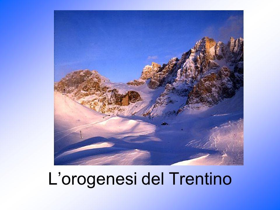 245- 200 M.A.Il Trentino presenta delle zone di mare profondo e delle zone di mare poco profondo.