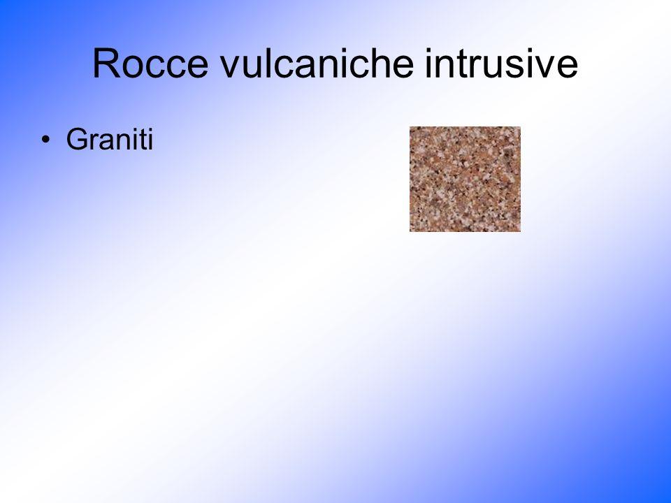 Rocce vulcaniche intrusive Graniti