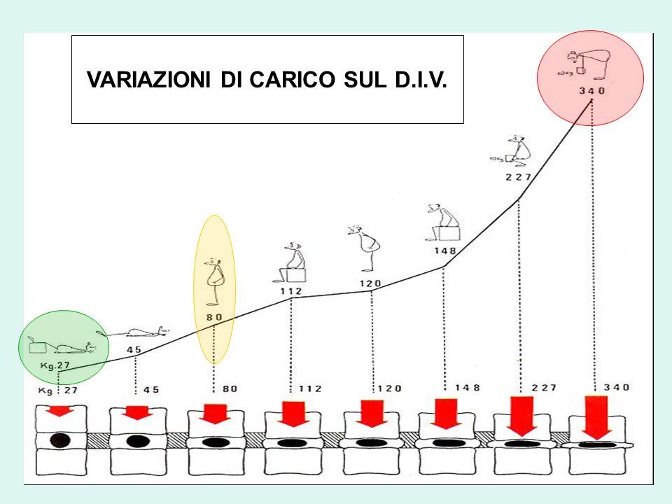 VARIAZIONI DI CARICO SUL D.I.V.