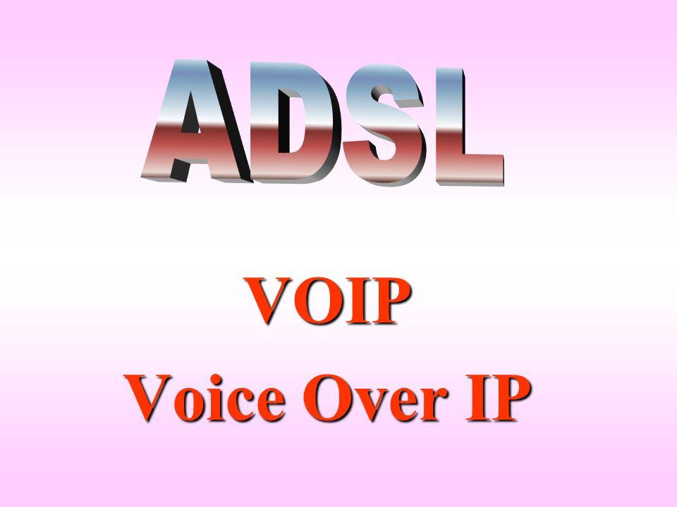 VOIP larghezza di banda frequenza larghezza di banda frequenza La voce umana ha uno spettro di circa 2 Khz che richiede una larghezza di banda di almeno 4 Kbit/sec.
