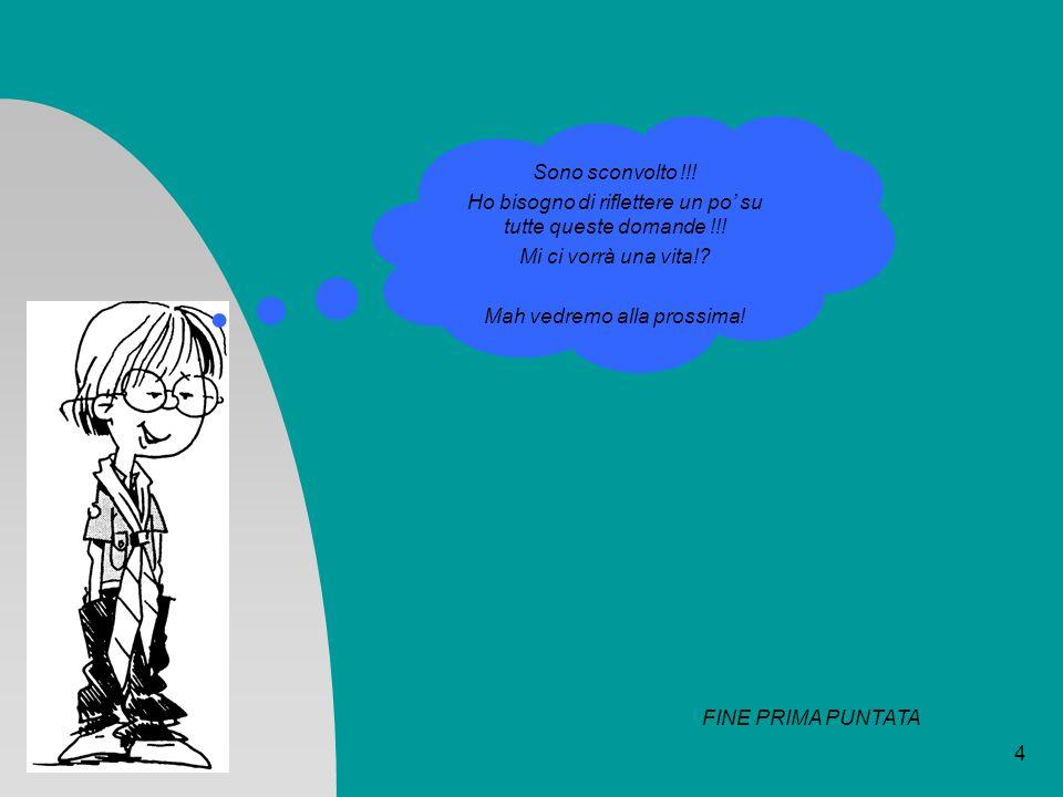5 Serie ed Integrale di FOURIER Un generico segnale s(t), periodico, sotto ipotesi facilmente verificabili, è scrivibile come una somma infinita di sinusoidi, ciascuna di opportuna ampiezza, frequenza e fase: Se il segnale s(t) non è periodico la sommatoria di cui sopra prende i connotati di un integrale: Fermi tutti !!.