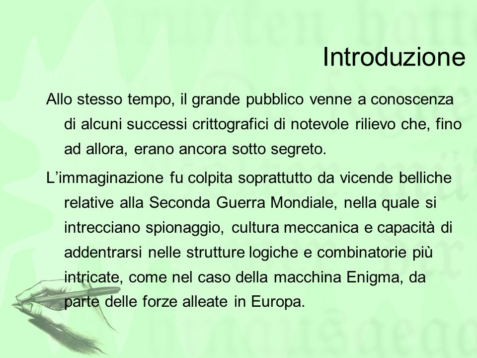Bibliografia Simon Singh Codici & segreti, BUR PC Professionale 07/09 pp.