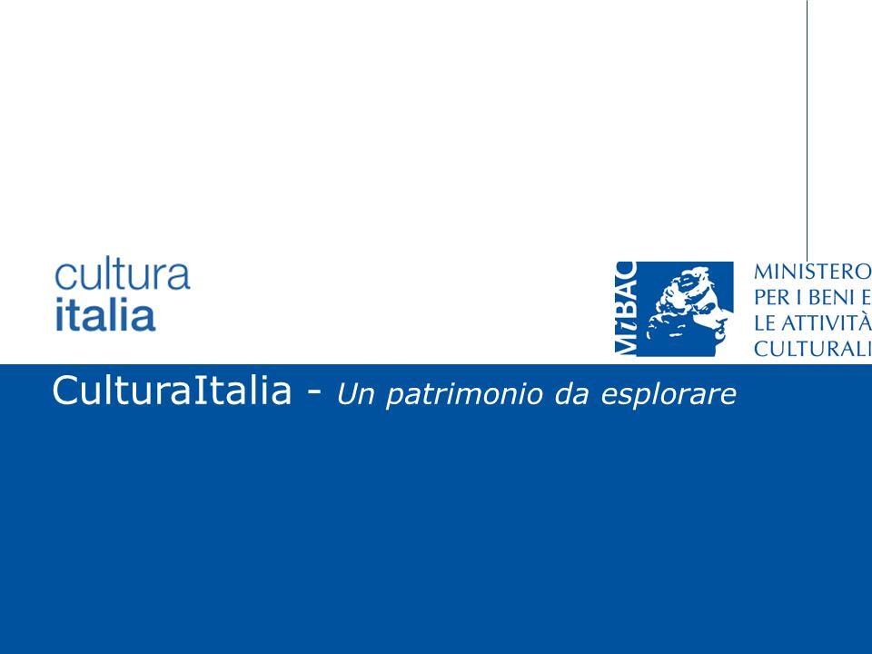 Giuliana De Francesco Roma, 19 aprile 2007 CulturaItalia - Un patrimonio da esplorare