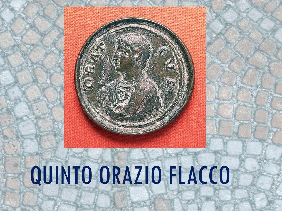 VITA Nasce a Venosa (tra Puglia e Lucania) l8 dicembre dell8 a. C.