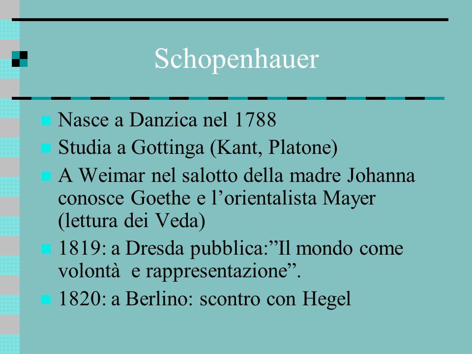 Per lui Hegel È un accademico mercenario, Un ciarlatano di mente ottusa, Ha corrotto unintera generazione, Usa la filosofia come mezzo di lucro, E il sicario della verità, Rende la filosofia serva dello Stato e colpisce la libertà di pensiero La sua invece è una verità non rimunerata.