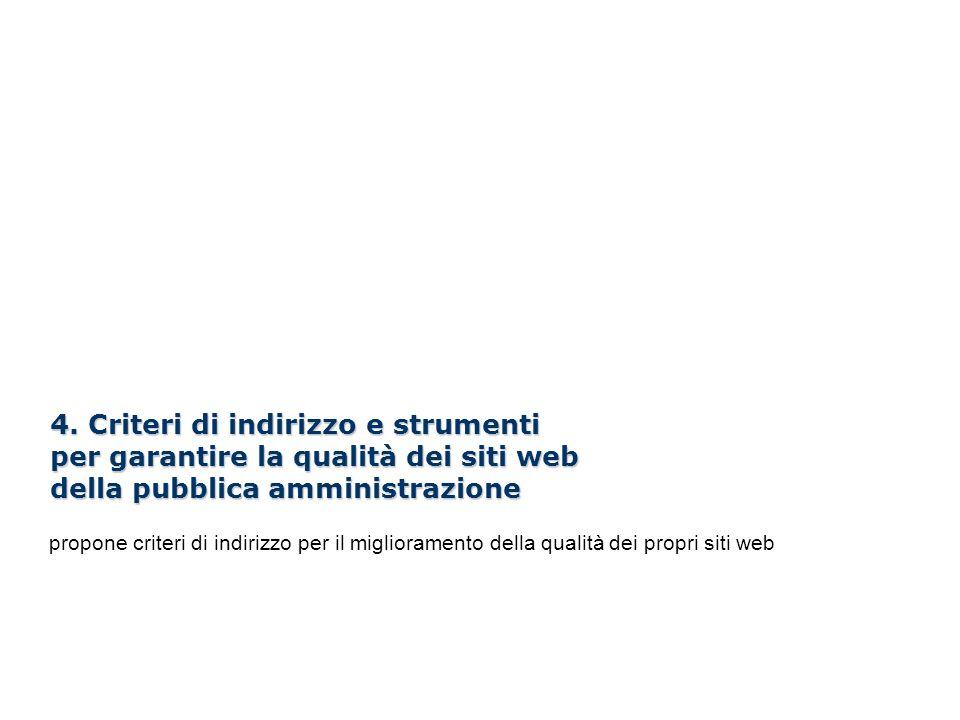 Linee guida per i siti web della PA /100 4.