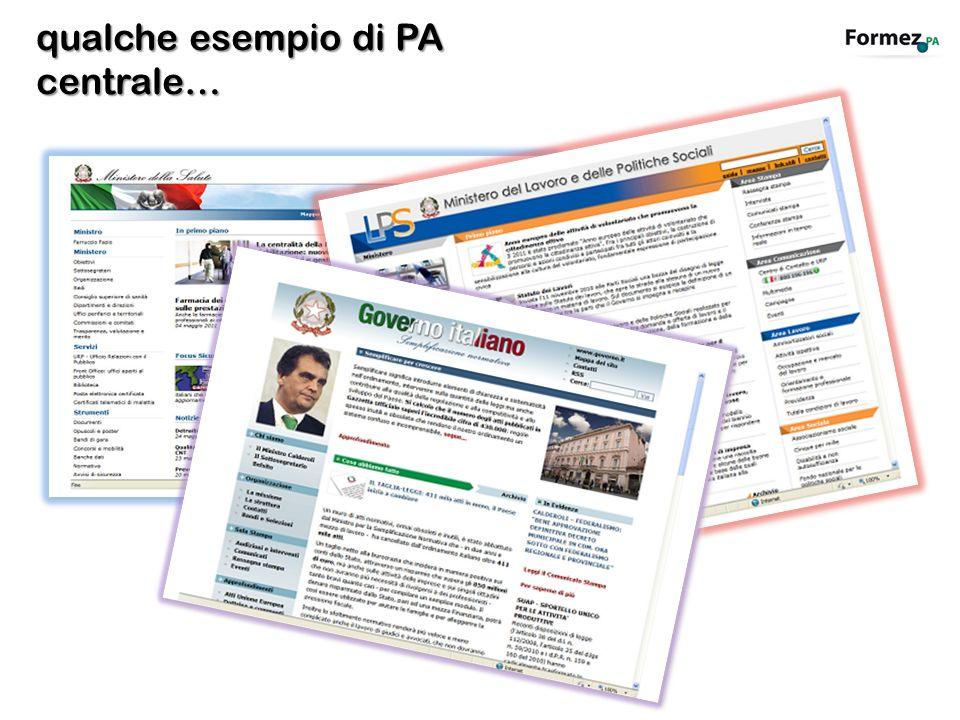 Rilevazione: aprile 2011 I migliori siti web tra i ministeri con portafoglio