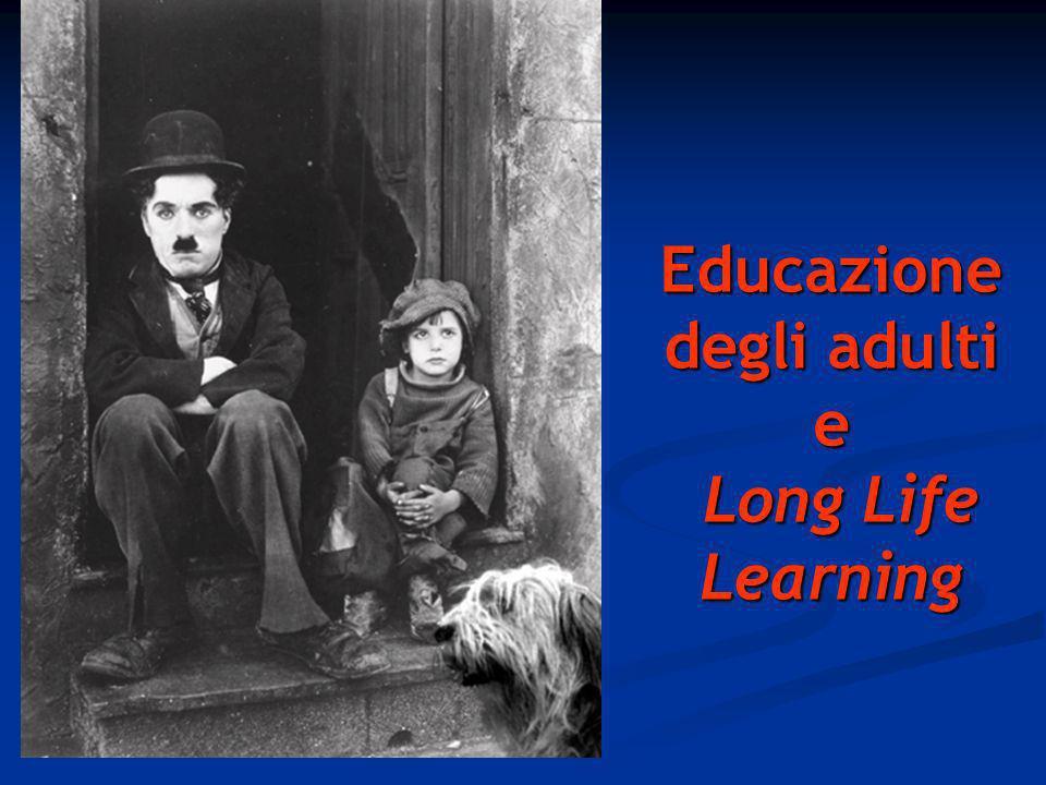 Educazione degli adulti e Long Life Learning