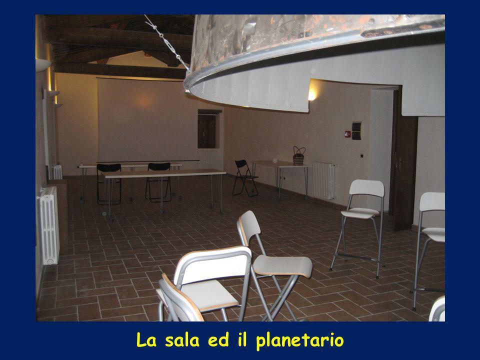 La sala ed il planetario