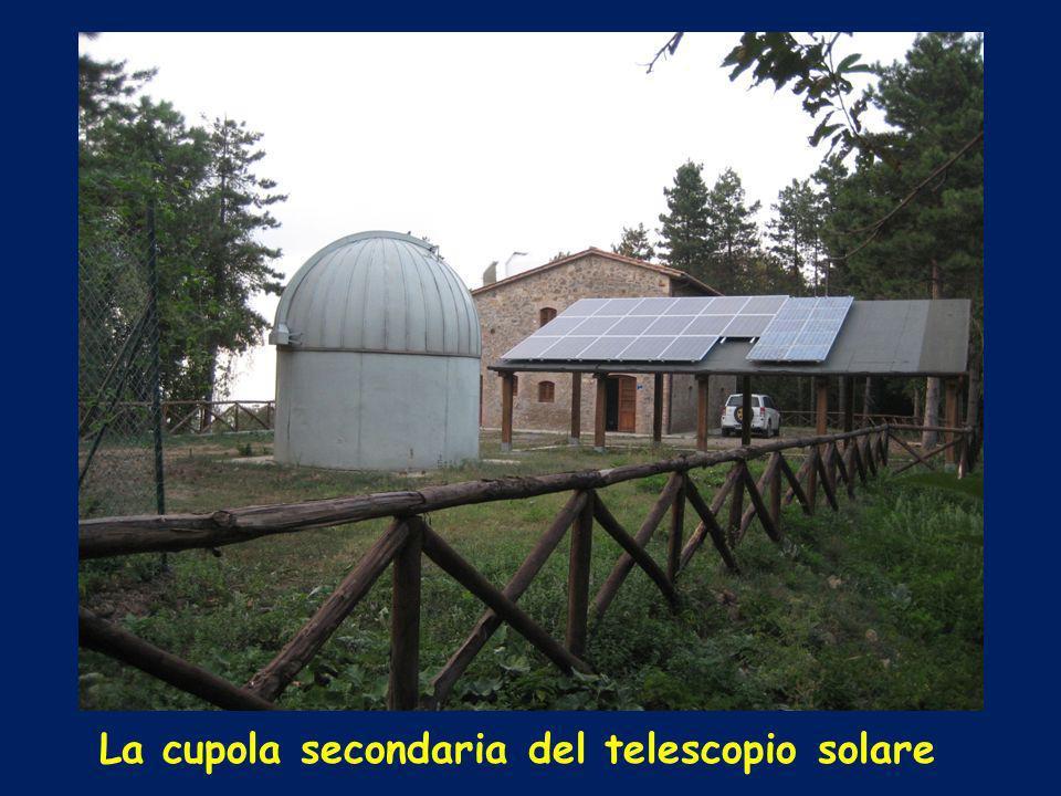 La cupola secondaria del telescopio solare