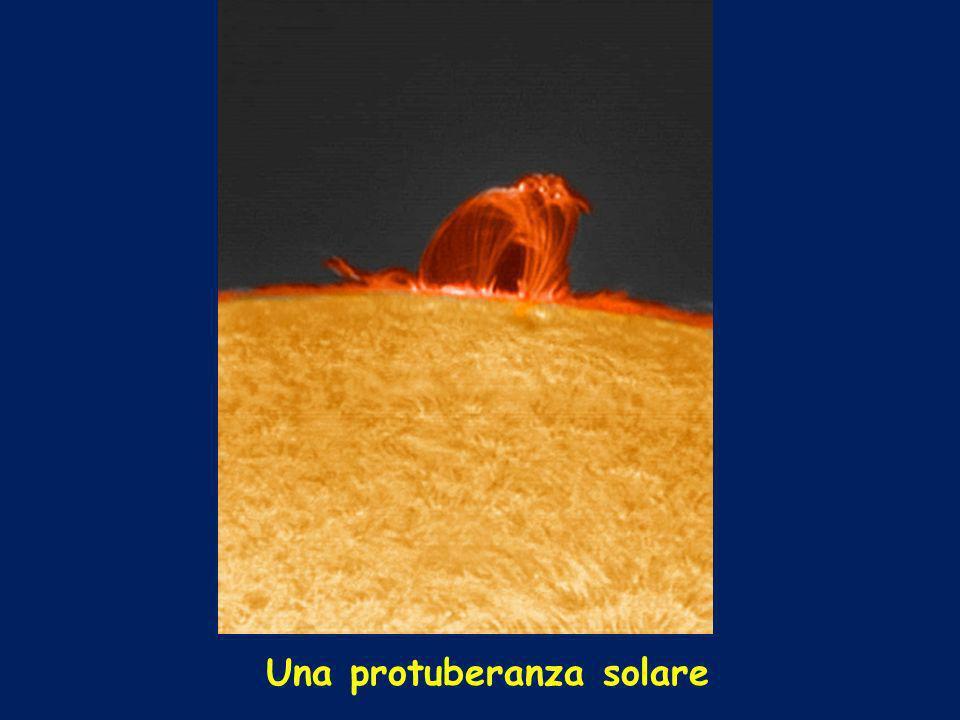 Una protuberanza solare