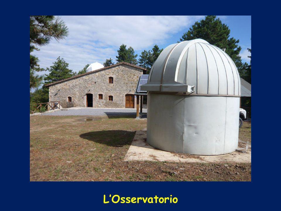 Il telescopio secondario da 25 cm di diametro