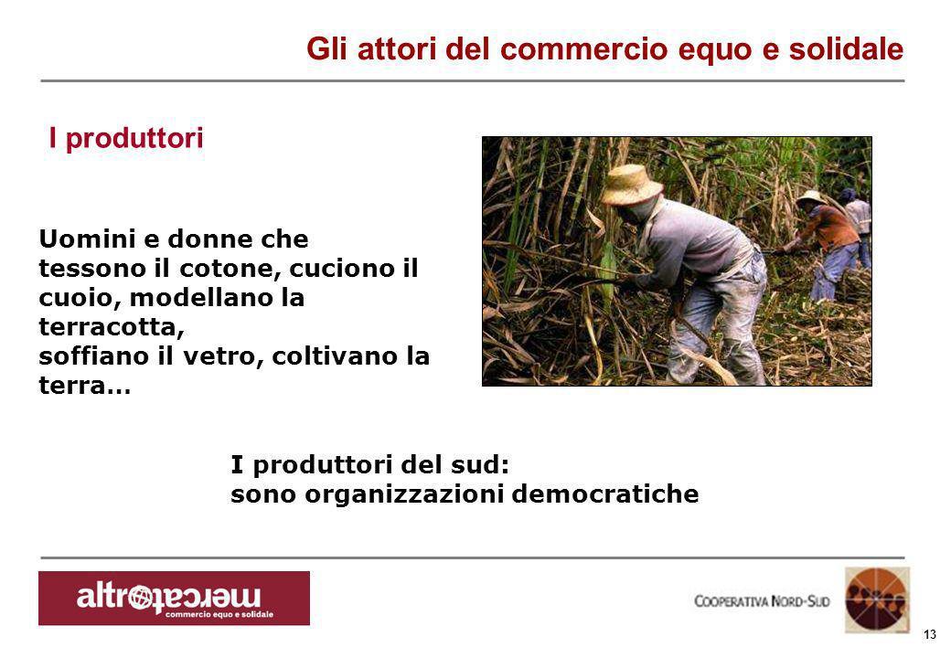 Consorzio Ctm altromercato info@altromercato.it www.altromercato.it 13 Uomini e donne che tessono il cotone, cuciono il cuoio, modellano la terracotta