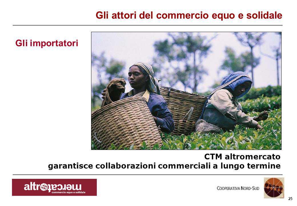 Consorzio Ctm altromercato info@altromercato.it www.altromercato.it 25 CTM altromercato garantisce collaborazioni commerciali a lungo termine Gli atto